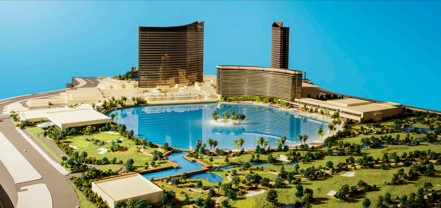 Wynn Resorts Paradise Park (LV) Massing Model Photo (conceptual)-20160406